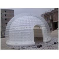 Wholesale Inflatable Transparent Tent Air Bubble Ice Dome Tent For Events from china suppliers
