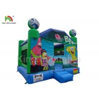 Wholesale Inflatable airplane jumping castle 0.45-0.55mm PVC tarpaulin , unti-riptured from china suppliers