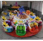 Indoor / Outdoor Crazy Dance Ride Amusement Equipment Magic Lamp Ride