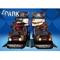 Video Entertainment Coin Pusher Game Machine 3D Dynamic Motion Racing Car