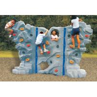 Quality Outdoor playground climbing wall for kids for sale
