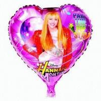 Wholesale 18-inch Heart Foil Balloon for Parties, Wedding, Advertising, Promotions or Gifts Used from china suppliers