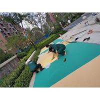 Wholesale Fragmented Rubber Playground Material , Epdm Rubber Play Chippings from china suppliers