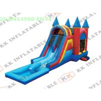 Wholesale Commercial Outdoor Inflatable Park Equipment / Custom Water Slide from china suppliers