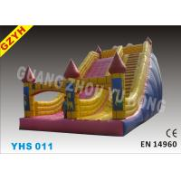 Wholesale Party, Club,Backyard 0.55mm PVC Tarpaulin Commercial Inflatable Slides For Kids YHS 011 from china suppliers