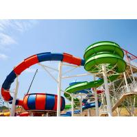 Wholesale Water Park Slide For Family and Hotel Resort / Aqua Park Swimming Pool Equipment from china suppliers