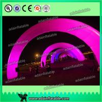 Wholesale White Inflatable Arch With LED Light , Event Inflatable Archway from china suppliers