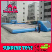 Wholesale F-005 Popular Game New Inflatable Soccer Field For Sale from china suppliers