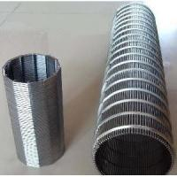 China SS Wedge Wire Mesh Screen For Mining And Oilfield Screening Filtration on sale