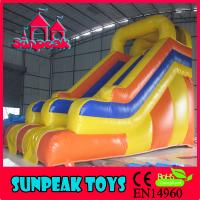 Wholesale SL-1988 China Factory Popular Inflatable Slide For Pool from china suppliers
