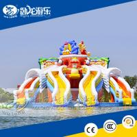 Buy cheap inflatable water slide for adult, giant slide for sale from wholesalers