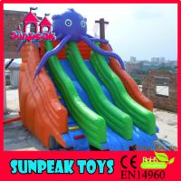 Quality WL-1802 Inflatable Water Play equipment New Inflatable Water Slides for sale