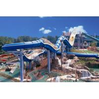 Wholesale 400 Riders Capacity Rafting Spiral Water Slide For Amusement Park from china suppliers