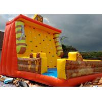 Wholesale Egyptian pyramids Cleopatra Mummy Themed Inflated Fun Games / Inflatable Climbing Wall from china suppliers