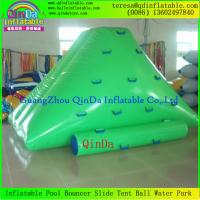 Quality Hot Sale Inflatable Water Climbing Mountain Inflatable Climbing Wall Flaoting Iceberg for sale