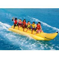 Wholesale Fun Inflatable Pool Toys Singal Row Banana Boat Fly Fish For Surfing Games from china suppliers