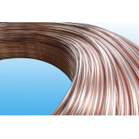 Wholesale 0.55mm Low Carbon Copper Coated Bundy Tube For Freezer , Bundy Tubing Company from china suppliers