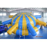 Wholesale 0.9mm PVC Tarpaulin Inflatable Saturn Rocker For Water Park Games from china suppliers