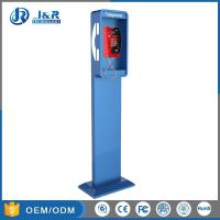 Wholesale Vandal Resistant Highway Emergency Phone Pillar , Roadside Phone Protection Pillar from china suppliers