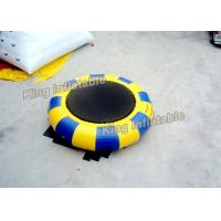 Wholesale 5m Diameter Blow Up Water Trampoline  PVC Tarpaulin Water Toy For Christmas Party from china suppliers