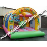 Wholesale Inflatable caterpillar fun city,Inflatable jumping ground from china suppliers