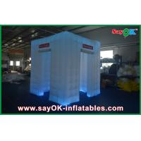 Wholesale Portable Cube Inflatable Photobooth 2.4x2.4x2.5m With LED Tent from china suppliers