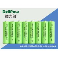 Wholesale AA Series Low Temperature Rechargeable Batteries 600 / 700 / 900 / 1000 / 1600 / 2000mAh from china suppliers