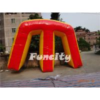 Wholesale Colored Inflatable Sport Games Paintball Bunker Giant M 0.9mm PVC Tarpaulin from china suppliers
