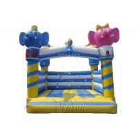 China Elephant Castle Inflatable Bounce House Non Toxic For Children on sale