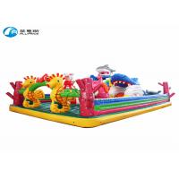 China playland pvc seaworld inflatable jumping castle on sale