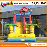 Wholesale Inflatable Dry Slide Mini Slip 0.55MM PVC Tarpaulin Inflatable Slide For Kids from china suppliers