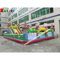 Wholesale Gaint Inflatable funcity ,inflatable playland for kid, fun part with slide KFT015 from china suppliers