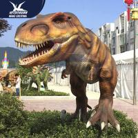 Buy cheap Infrared Sensor Outdoor Dinosaur Statues With Eyes Blink Forepaws Moving from wholesalers