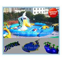 Wholesale Inflatable Water Park Equipment for Sale Shark Water Park (CY-M2143) from china suppliers