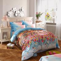 Wholesale 100 Percentage Cotton Fabric Home Bedroom Bedding Sets Most Comfortable from china suppliers