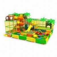 Wholesale Indoor Playground Equipment, Different Sizes, Colors and Designs are Available from china suppliers
