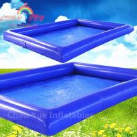 Wholesale High Quality Blue Inflatable Water Pool for water walking ball from china suppliers