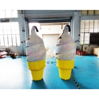 Wholesale Air Ice Cream Characters Advertising Inflatables For Squares from china suppliers