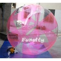 Wholesale Pink Color Inflatable Water Walking Ball 0.8MM TPU for Water Pool or sea water games from china suppliers