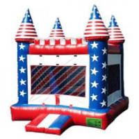Wholesale Airflow Kids Commercial Inflatable Bouncers Castle YHCS 032 with 0.55mm PVC Tarpaulin from china suppliers