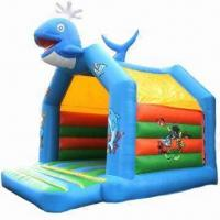Buy cheap Inflatable Bouncing/Jumping Castle with Slide from wholesalers