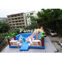 China Digital Printing Giant Inflatable Bouncy Castle Cute Design With 0.55 Mm Pvc on sale