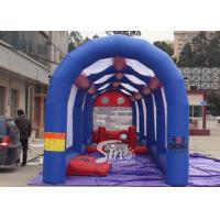 Wholesale Outdoor commercial Kids N adults inflatable football assault course for interactive games from china suppliers
