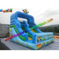 Wholesale Small Dry Commercial Minion Inflatable Slide with 0.55mm PVC tarpaulin Material from china suppliers