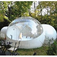 Wholesale Outdoor Inflatable Camping Bubble Tent with 2 tunnels from china suppliers