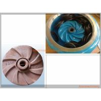 Quality High Effcient Cast Process Mining Slurry Pump Impeller Corrosion Resisting for sale