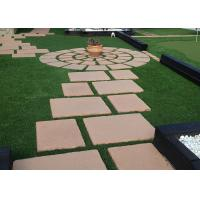 Wholesale Mud Free Garden Artificial Turf No Mowing No Fertilizing All Year Green With Thatch from china suppliers