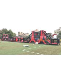 Wholesale Giant Silk Printing 0.55mm Inflatable Obstacle Course from china suppliers