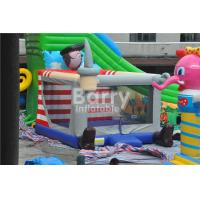Wholesale Outdoor / Indoor Pirate Kids Inflatable Bouncer Jumping Houses Fade Proof from china suppliers