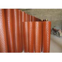 China EMW Medium Expanded Metal Mesh Sheet For Highway Fencing Rhombus Hole on sale